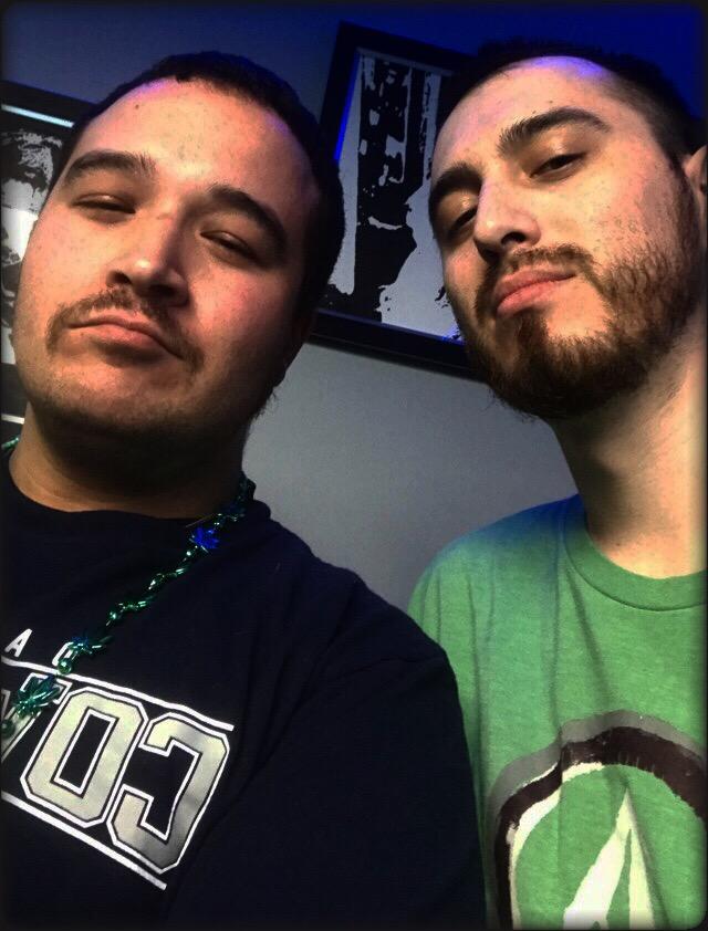Isaac and Brandon selfie