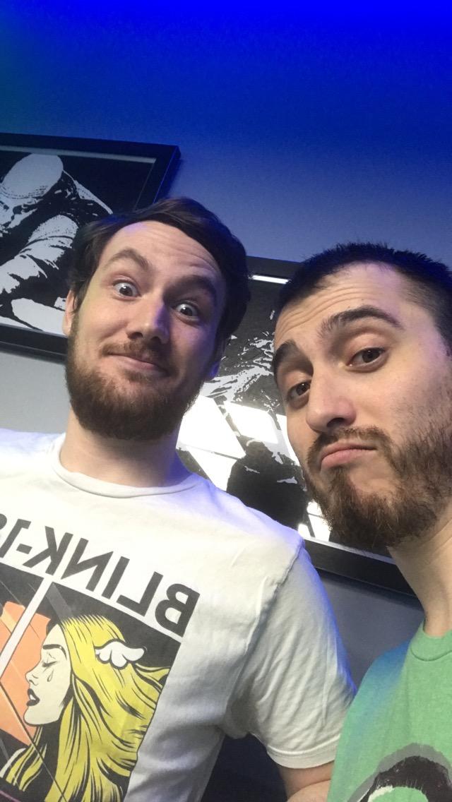 Blake and Brandon selfie